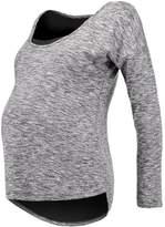 Bellybutton Long sleeved top mottled light grey
