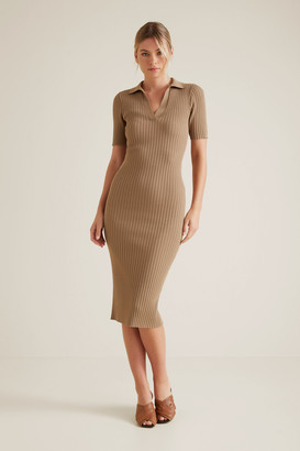 Seed Heritage Neat Collared Dress