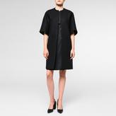 Paul Smith Women's Black Wool-Cashmere Coat