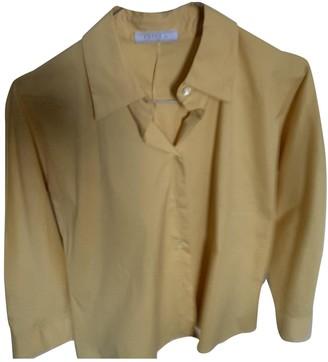 Prada Yellow Cotton Top for Women Vintage