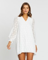 Atmos & Here Atmos&Here Lauren Dobby Smock Dress