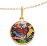 Alex and Ani A New Day Goldtone Art Infusion Necklace Charm