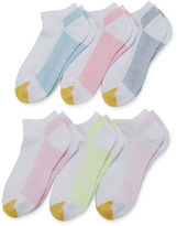Gold Toe Gold Toe6-pk.+1 Microdot Liner Socks