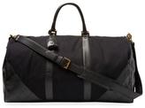 Chanel Vintage Black Canvas & Leather Duffle