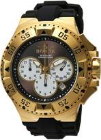 Invicta Men's 'Excursion' Quartz Stainless Steel and Silicone Casual Watch, Color: (Model: 23043)
