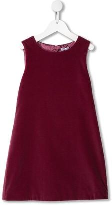 Dolce & Gabbana Velvet Sleeveless Dress