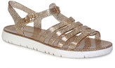 Bamboo Gold Jelly Sandal