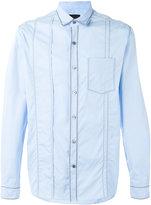 Lanvin pleat effect shirt - men - Cotton - 39