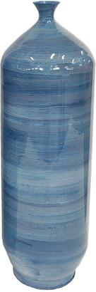 Sagebrook Home Metal Flute Vase