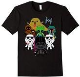 Star Wars Cute Kawaii Style Villains Graphic T-Shirt