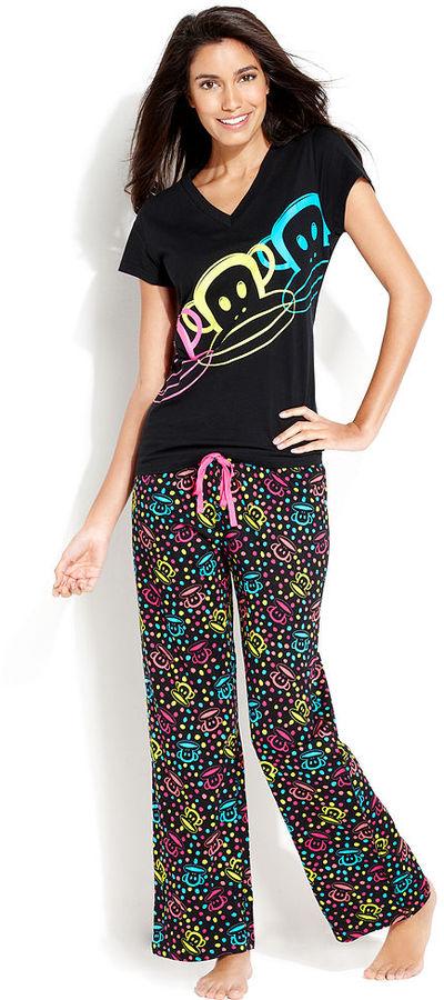 Paul Frank Age Group Pajamas, Pops of Fun Top and Pajama Pants