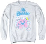 Mr Bubble Mens 80S Logo Sweater