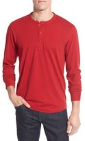 Nordstrom Men's Brushed Pima Cotton Long Sleeve Henley
