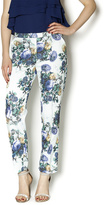 Darling Floral Ankle Pants