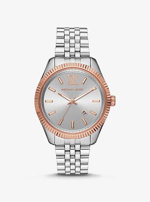 Michael Kors Oversized Lexington Two-Tone Watch - Two Tone