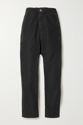 Bassike Cotton Track Pants - Black