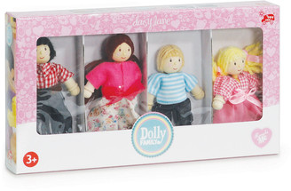 Le Toy Van Poseable Doll Family of 4 Play Set