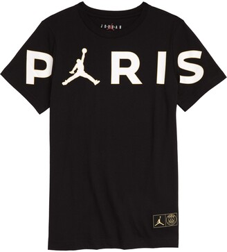 Jordan x Paris Saint-Germain Kids' Paris Logo Graphic Tee