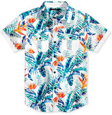 Sean John Tropical Living Woven Cotton Shirt, Big Boys (8-20)