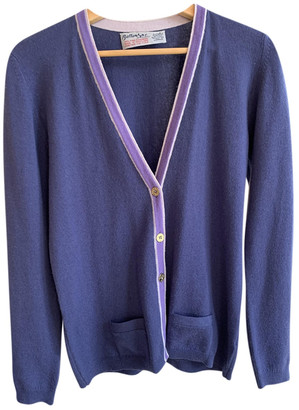 Ballantyne Purple Cashmere Knitwear