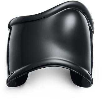 Tiffany & Co. Elsa Peretti medium Bone cuff in black finish over copper, 61 mm wide