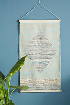 Anthropologie Sail & Sky Woven Wall Art
