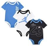 Air Jordan Blue and Black Set of 3 Branded Bodies