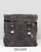 Reclaimed Vintage Acid Washed Backpack
