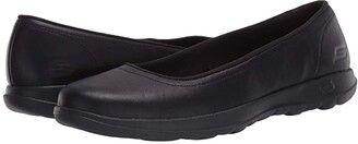 Skechers Performance Performance Go Walk Lite - Finest (Black) Women's Flat Shoes