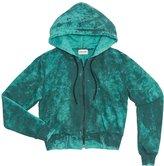 Cotton Citizen Women's Milan Crop Zip Hoodie - Teal Dust