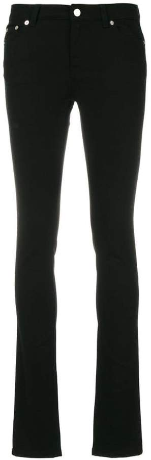 Givenchy star motif skinny jeans