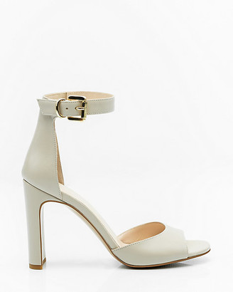 Le Château Italian-Made Leather Ankle Strap Sandal