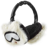 Karl Lagerfeld Ear Muffs with Leather