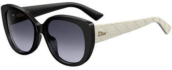 Christian Dior DiorLady1 Oversized Cannage Cat-Eye Sunglasses