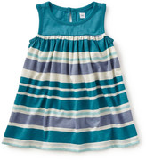 Tea Collection Ombrello Sleeveless Stripe Dress (Baby Girls)