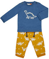 John Lewis Artroom Dino T-Shirt and Trousers Set, Multi