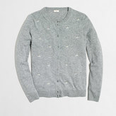 J.Crew Factory Embellished Caryn cardigan sweater