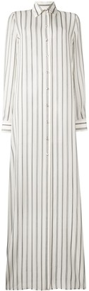 Lanvin Long Striped Shirt