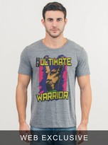 Junk Food Clothing Wwe The Ultimate Warrior Tee-steel-xl