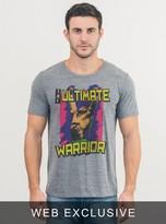 Junk Food Clothing Wwe The Ultimate Warrior Tee-steel-xxl