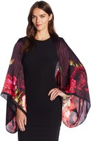 Ted Baker Women's Juria Juxtaposed Rose Cape