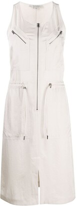 AllSaints Drawstring Waist Dress