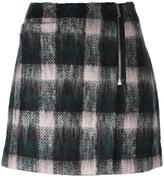 Markus Lupfer checked mini skirt