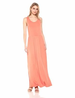28 Palms Amazon Brand Women's Sleeveless Maxi Dress