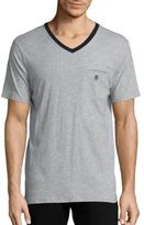 The Kooples SPORT Short Sleeve V-Neck T Shirt