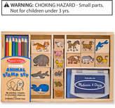 Melissa & Doug Kids Toys, Kids Animal Block Stamp Set