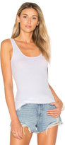 Enza Costa Rib Scoop Back Tank