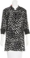Gucci Silk Short Coat