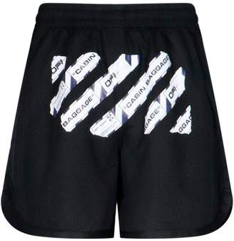 Off-White Airport Tape Shorts