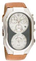Philip Stein Teslar Dual Time Chronograph Watch